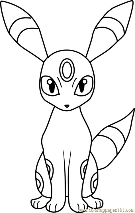 pokemon coloring pages umbreon umbreon pokemon coloring page free pok 233 mon coloring