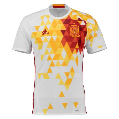 T Shirt Spain Euro2016 adidas hommes espagne maillot football ext 233 rieur jersey t