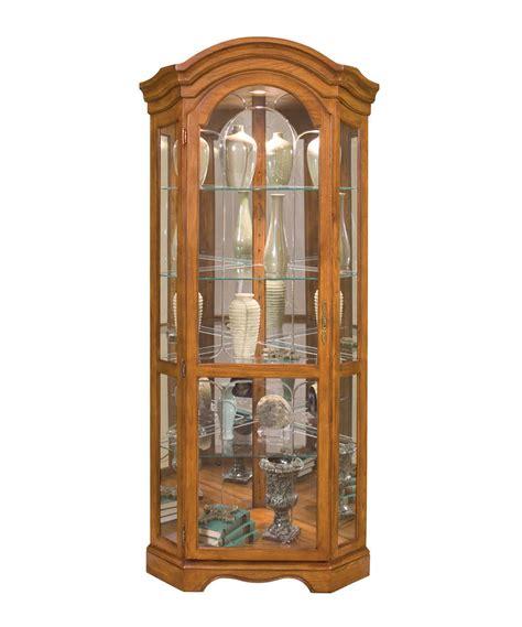 Ebay Curio Cabinets by Philip Reinisch Co Barrington Corner Curio Cabinet Ebay