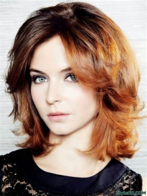shoulderlength hairstyles could they be put in a ponytail haircuts medium hair 2014 image haircuts pinterest