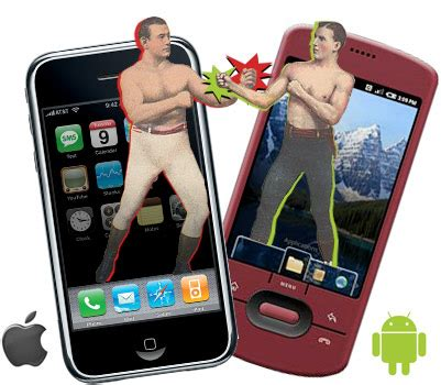 iphone versus android apple iphone 4 against the android legion of smartphones
