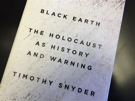 black earth the holocaust review black earth the holocaust as history and warning