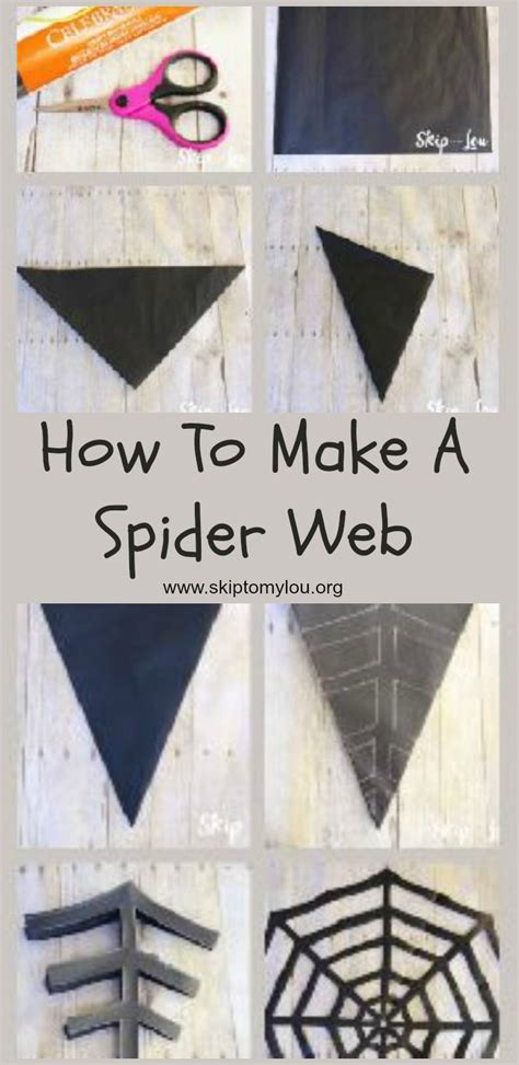 How To Make A Spider Web With Paper - 25 b 228 sta halloweensaker id 233 erna p 229