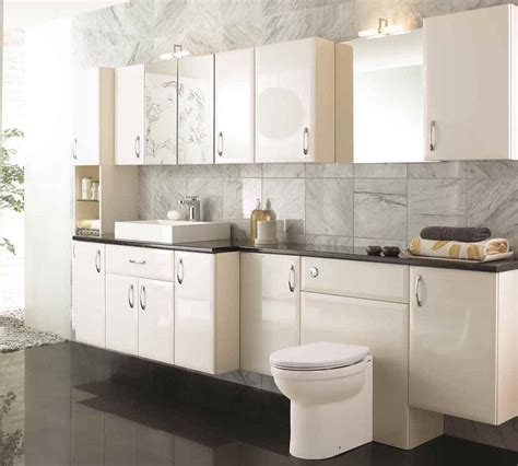 fitted bathroom furniture ideas tilemaze fitted bathroom furniture cabinets