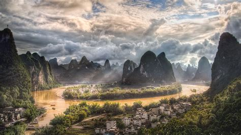 li river li jiang  xingping village  china china ultra