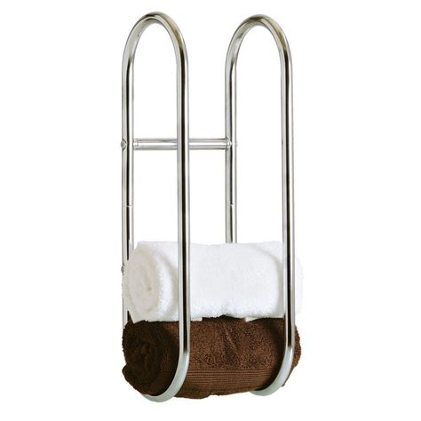 Bath Towel Shelf Rack by Modern Chrome Quality Bathroom Shelf Towel Stand Rack