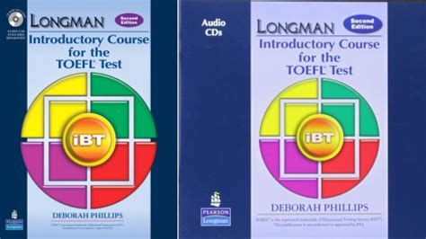 Cd Audio Longman Introductory Course For Toefltest Ibt 2nd Edition longman introductory course for the toefl test ibt 2nd edition by deborah phillips on pearson