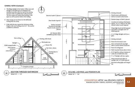 how does a planned c section work section view and reflected ceiling plan view 1st prize