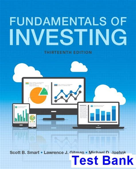 bank test fundamentals of investing 13th edition smart test bank