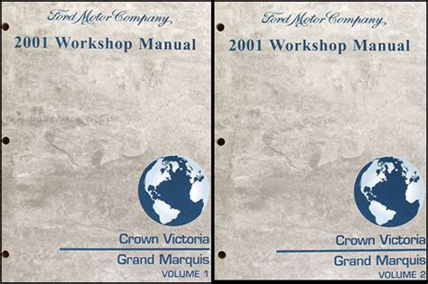 online car repair manuals free 2001 mercury grand marquis seat position control 2001 ford crown victoria and mercury grand marquis repair shop manual set