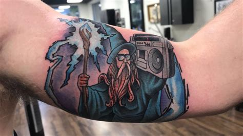 speakeasy tattoo peekskill ny got my wizard done by the driza at niteowl ta fl tattoos