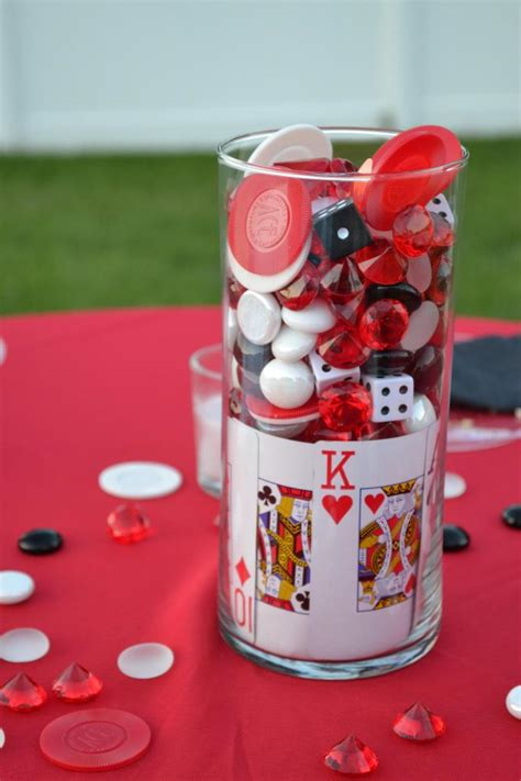Party City Decoration Themes - casino themed centerpieces