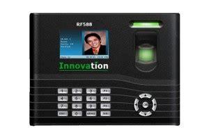 Mesin Absensi Sidik Jarifingerprint Innovation F300n review mesin absen sidik jari innovation rf588 mesin absensi