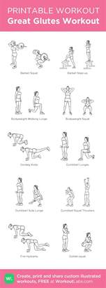 25 best ideas about glute workouts on posture