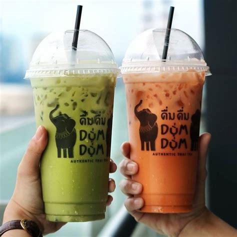 membuat thai tea dum dum 6 minuman thai tea paling segar di jakarta