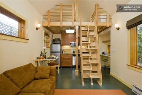 www modern home interior design your own 420 sq ft tiny cabin in berkeley tiny house pins
