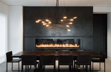 Dining Room Fireplace Ideas Contemporary Fireplace Architecture Magazine