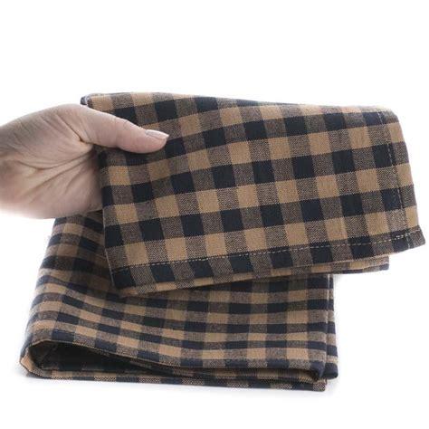 natural and black gingham plaid dish towel kitchen natural and navy gingham plaid dish towel kitchen towels
