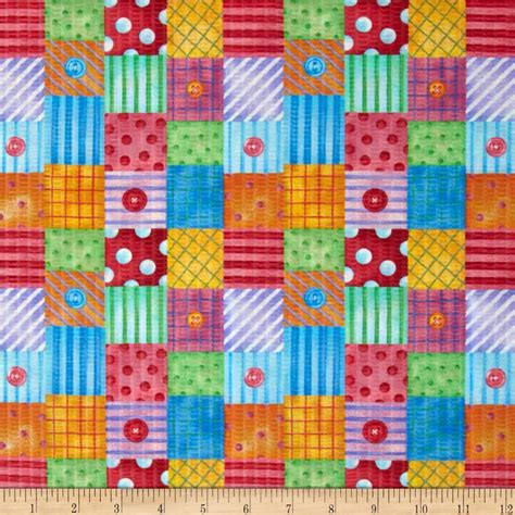 Fabric For Patchwork - tutti frutti plisse patchwork multi discount designer