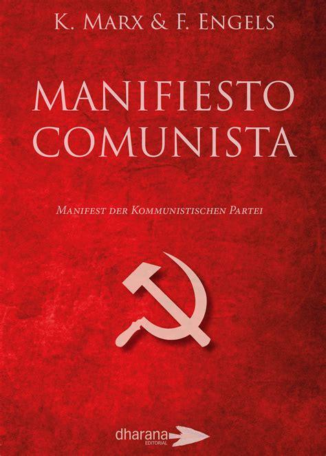 libro manifiesto del partido comunista manifiesto comunista editorial dharana
