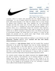 cover letter for nike brand managment nike building a global brand analysis