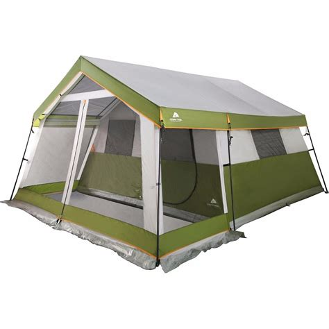 cabin tent tents for cing 10 person w porch outdoor family cabin
