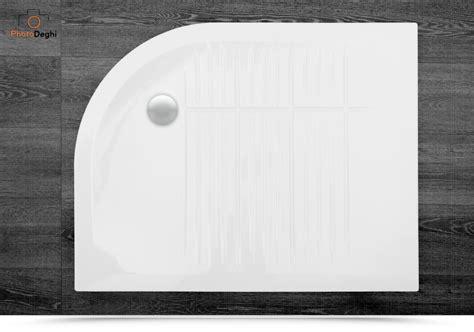 piatto doccia angolo piatto doccia in ceramica 70x90 angolo sinistro azzurra
