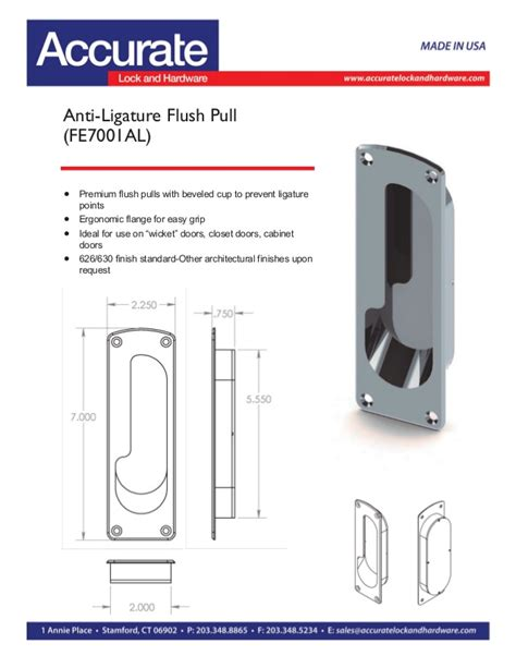 anti ligature cabinet pulls anti ligature safety hardware by accurate lock