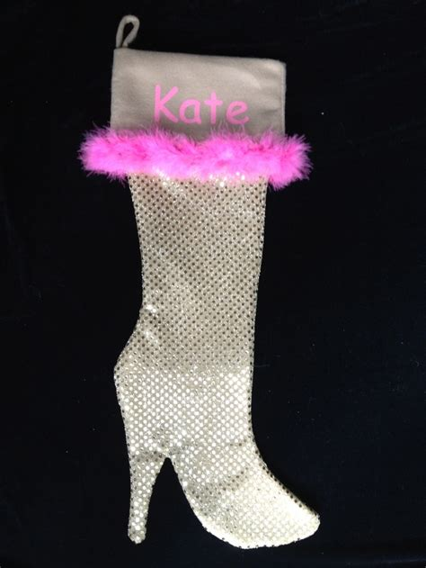 pattern for high heel christmas stocking gold high heel sequin christmas stockings crafts