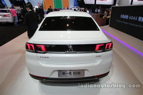 peugeot china 2016 peugeot 308 sedan at auto china 2016 rear indian