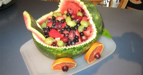 Baby Shower Melon Carriage by Baby Carriage Melon Fruit Basket Baby Shower Themes