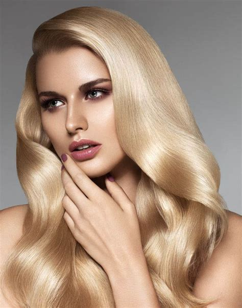 beutician pics of hairstsyles they have done brushed blonde hair the latest trends in women s