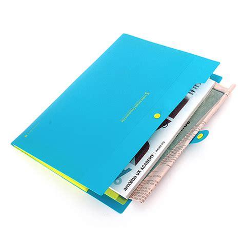 Business File Inter X Foolder Biru new plastic a4 paper file folder cover holder document
