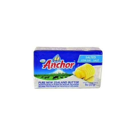 Anchor Unsalted Butter 227g anchor salted butter 227g