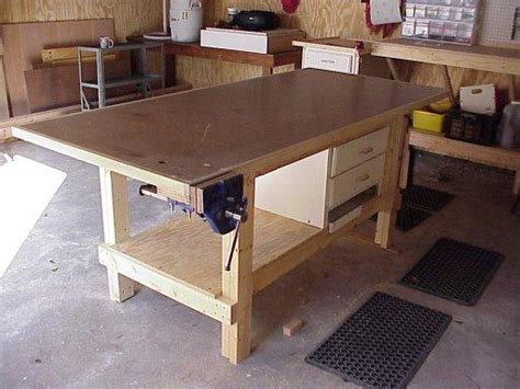 bench shops pdf woodwork woodshop bench plans diy plans the