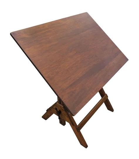 Drafting Table For Sale Antique Oak Drafting Table Olde Things