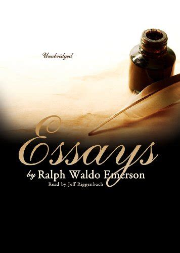 Ralph Waldo Emerson Essays And Second Series by Shop For Books Ralph Waldo Emerson By Searchbeat