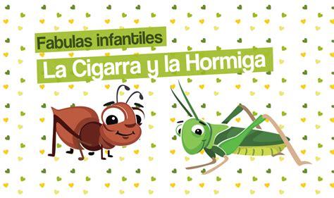 imagenes fabulas infantiles f 225 bula de la cigarra y la hormiga cuentos
