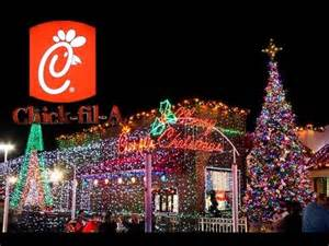 best chick fil a christmas lights 2013 youtube