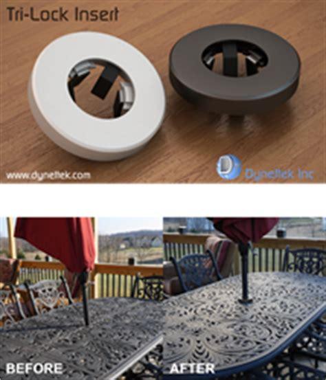 patio table umbrella insert a universal patio table and umbrella insert