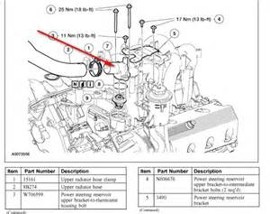 5 4 liter ford engine cooling system diagram autos post
