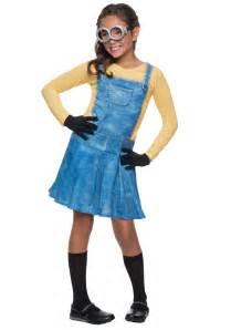 minion halloween costume for toddler child female minion costume