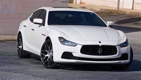 white maserati sedan maserati ghibli luxury sedan car review gearopen