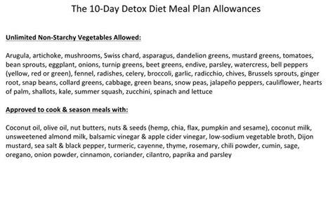 Dr Oz 10 Day Detox Diet 2015 by Diet Menu 10 Day Diet Menu