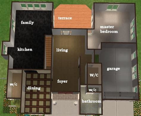 sims 3 4 bedroom house design mod the sims 3 4 bedroom house 35 989