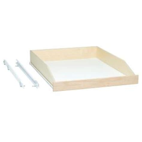 Sliding Shelf Hardware Home Depot by Slide A Shelf Made To Fit Slide Out Shelf 3 4 Extension