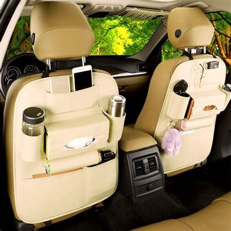 Nextbase Sdv49ac Car Back Seat faux leather car back seat organizer seat protector seat covers and cars