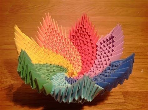 3d origami laos tutorial 10 best images about 3d origami on pinterest origami