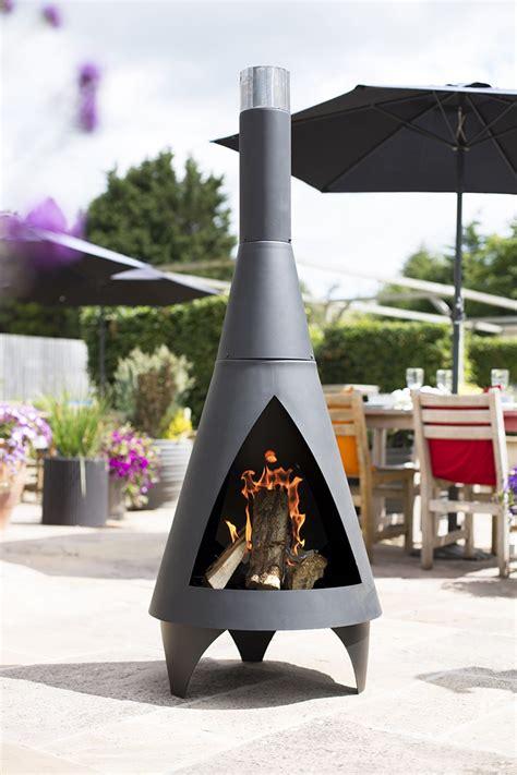 contemporary steel chimenea savvysurf co uk