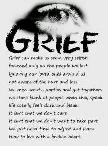 grief we need to take the time we need grief